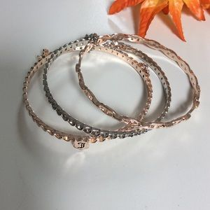 Juicy Couture Jewelry - Juicy Couture 🌷 NWOT Pretty 3 Bangle Bracelets.